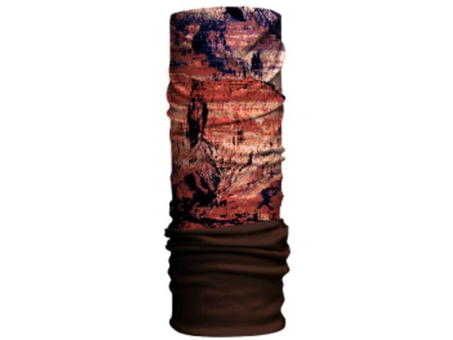HAD Original Fleece Sciarpa multifunzione, grand canyon/brown